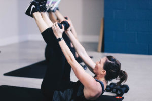 Allison working on core in Bootcamp