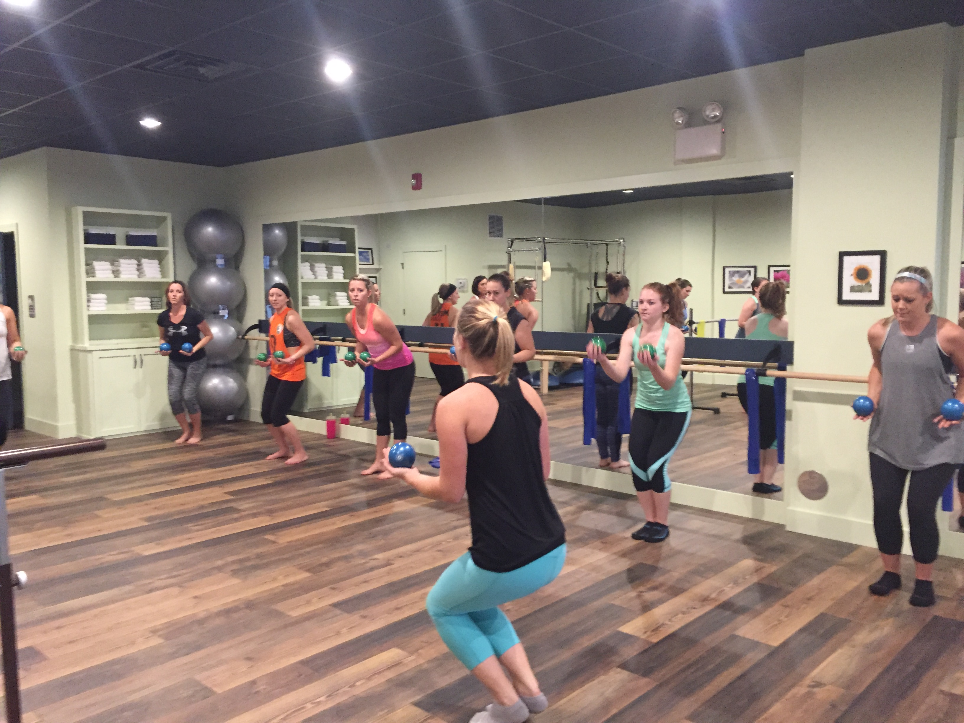 10 Thoughts I had During my First Barre Class