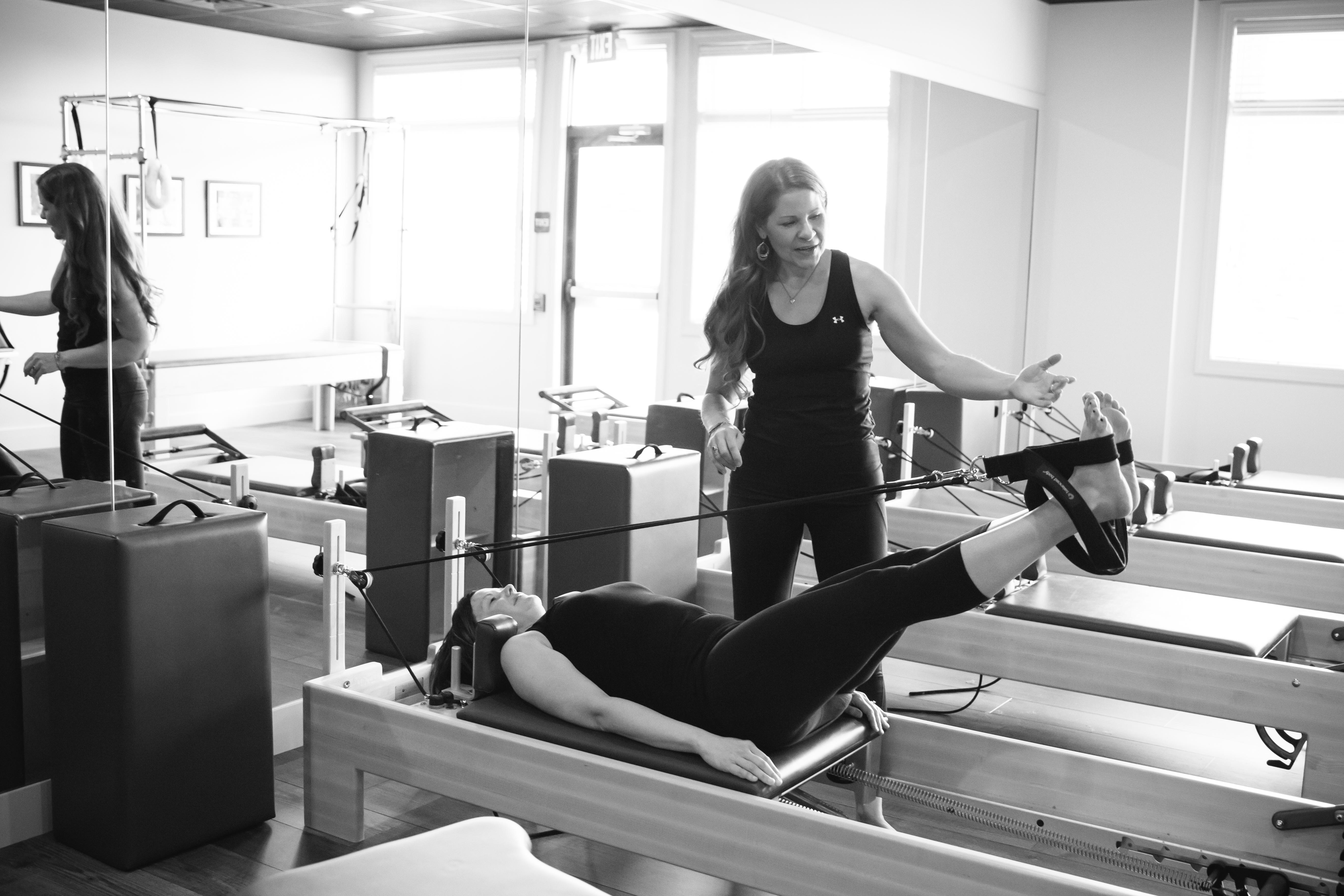 Beginner Pilates Reformer