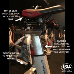 indoor cycling bike seat