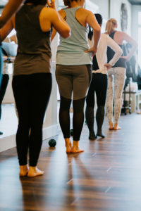 barre class for athletes